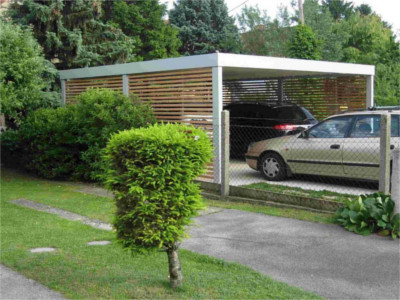 Carport doppelcarport carports metall carport wien for Preis carport