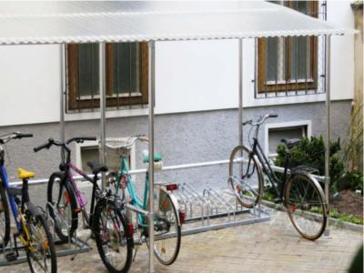 Radständer, Fahrradständer Wien, Fahrradabstellanlagen Wien, Fahrradständer kaufen, Reihenständer, Fahrradständer Metall, Radstaender, Kromus Fahrradständer