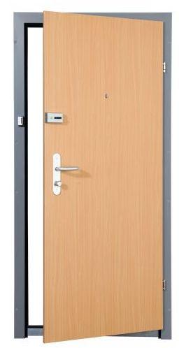 Stahl Sicherheitstüre mit Buche Dekor, Sicherheitstüre Stahl, Stahlsicherheitstüre