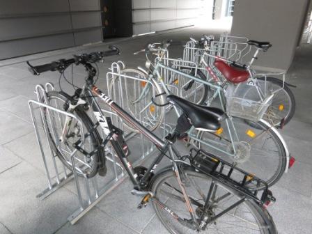 Fahrradständer, Bügelständer