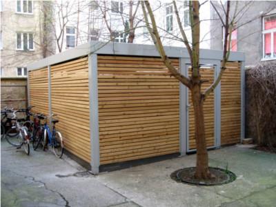 Fahrradgarage, Fahrradständer Garage, Fahrrad Garage