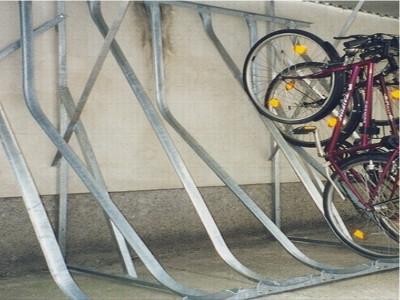 Kufenparker, Fahrrad Kufenparker, Fahrradständer EW, Fahrradschienen