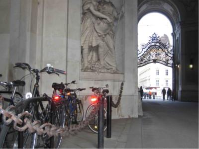 Wiener Bügel, Fahrradständer Bügelparker, Fahrradständer Wien, Modell Stadt Wien
