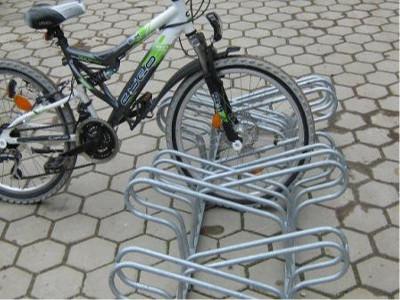 Doppelseitige Fahrradständer, Fahrradständer DN, Fahrradständer Platzsparend